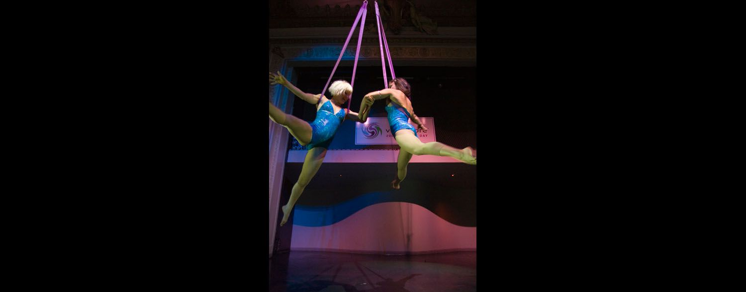 Aerial Act, Vizioncore Corporate Event Corporate event planner in San Francisco 1
