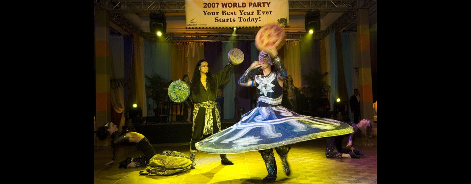 Whirling Dervish Moroccan Promotional Event Corporate event planner in San Francisco 7