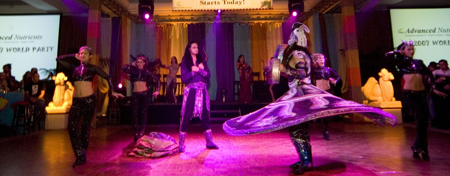 Whirling Dervish Moroccan Promotional Event Corporate event planner in San Francisco 5