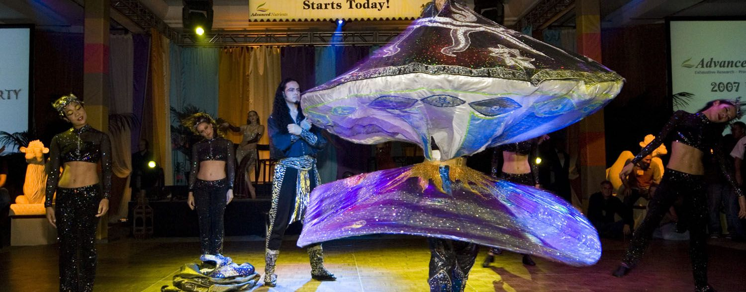 Whirling Dervish Moroccan Promotional Event Corporate event planner in San Francisco 2