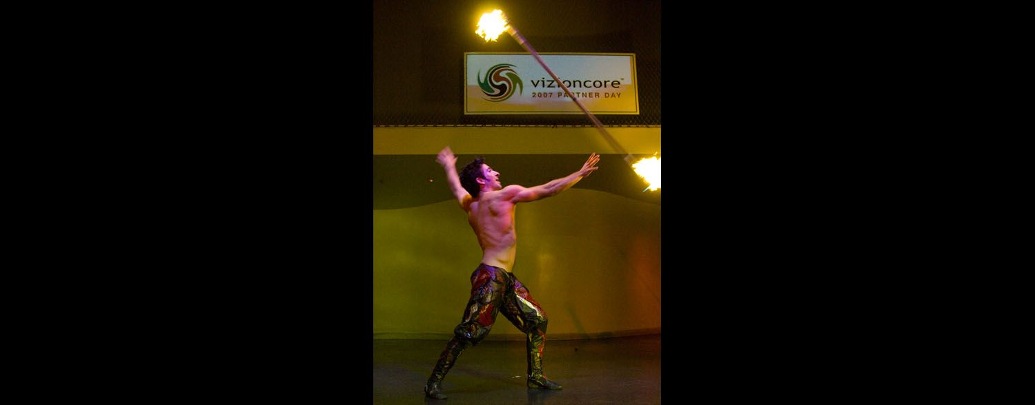 Fire Act, Vizioncore Corporate Event Area Corporate Event Planner 8