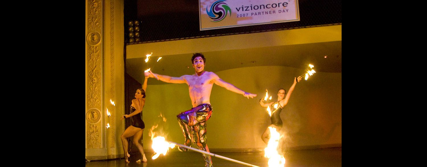 Fire Act, Vizioncore Corporate Event Area Corporate Event Planner 6