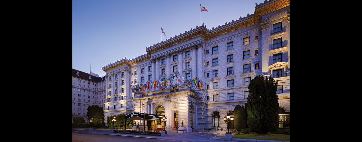 Aspect Fairmont Corporate event planner in San Francisco