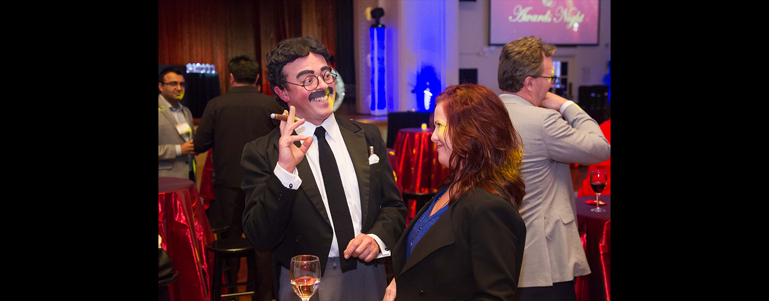 Groucho Marx impersonator San Francisco Corporate Anniversary & Awards Event January 2016 Area Corporate Event Planner 008