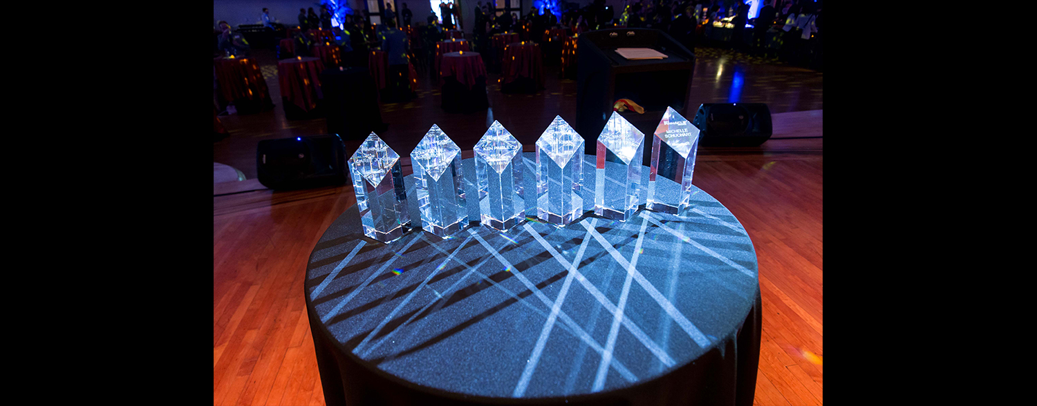 Crystal Awards for Corporate Event Corporate Anniversary & Awards Event January 2016 Area Corporate Event Planner 031