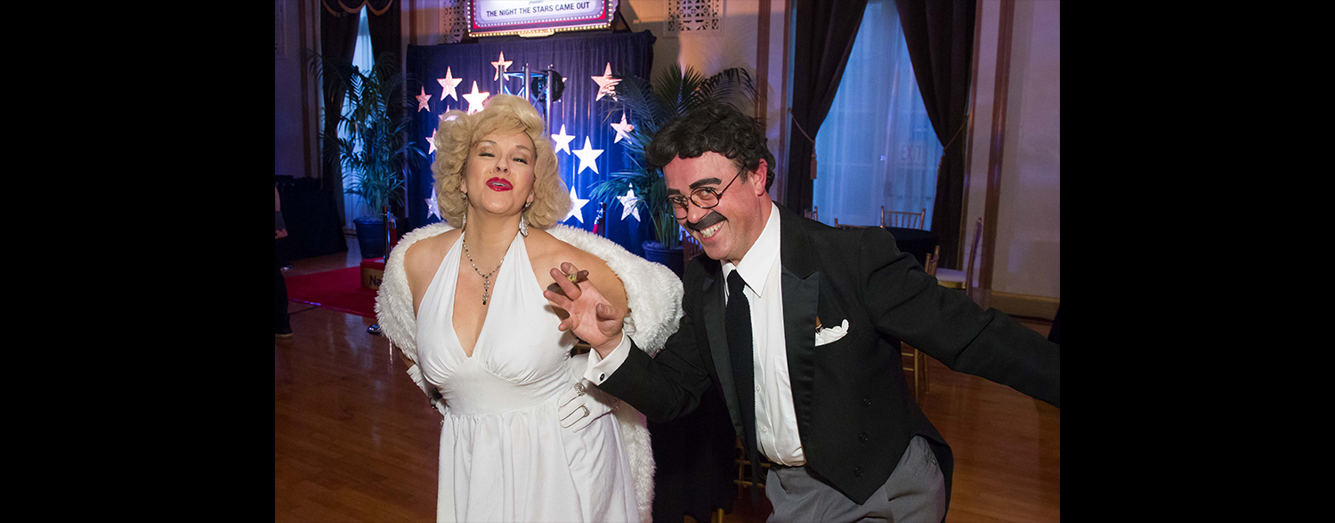 Marilyn Monroe and Groucho Marx impersonators Corporate Anniversary & Awards Event January 2016 Area Corporate Event Planner 006