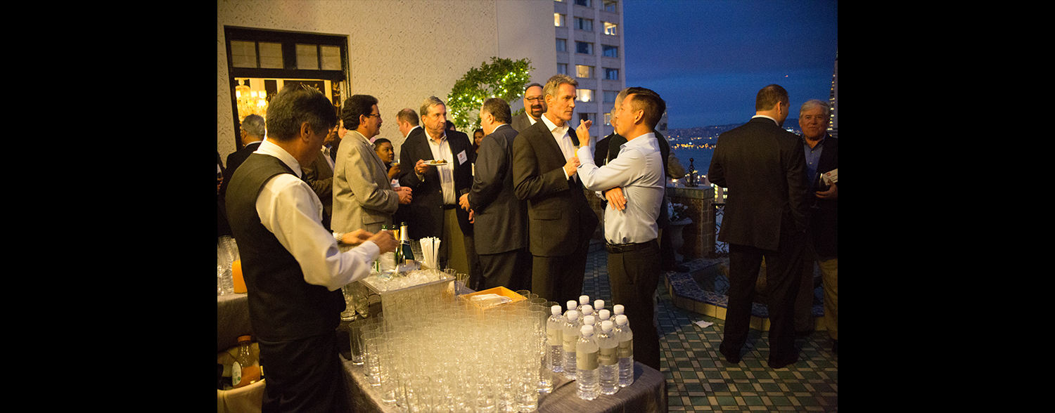 Corporate Welcome Reception February 2016 Corporate event planner in San Francisco 027