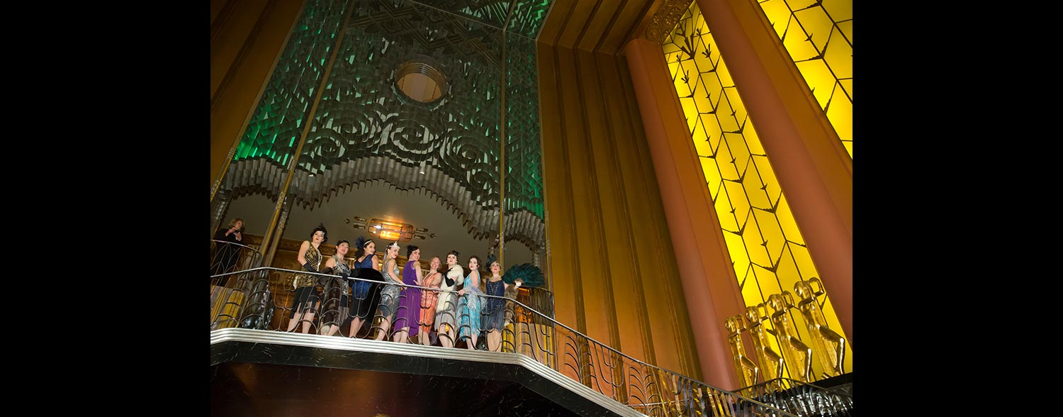 Art Deco Themed Event Corporate event planner in San Francisco