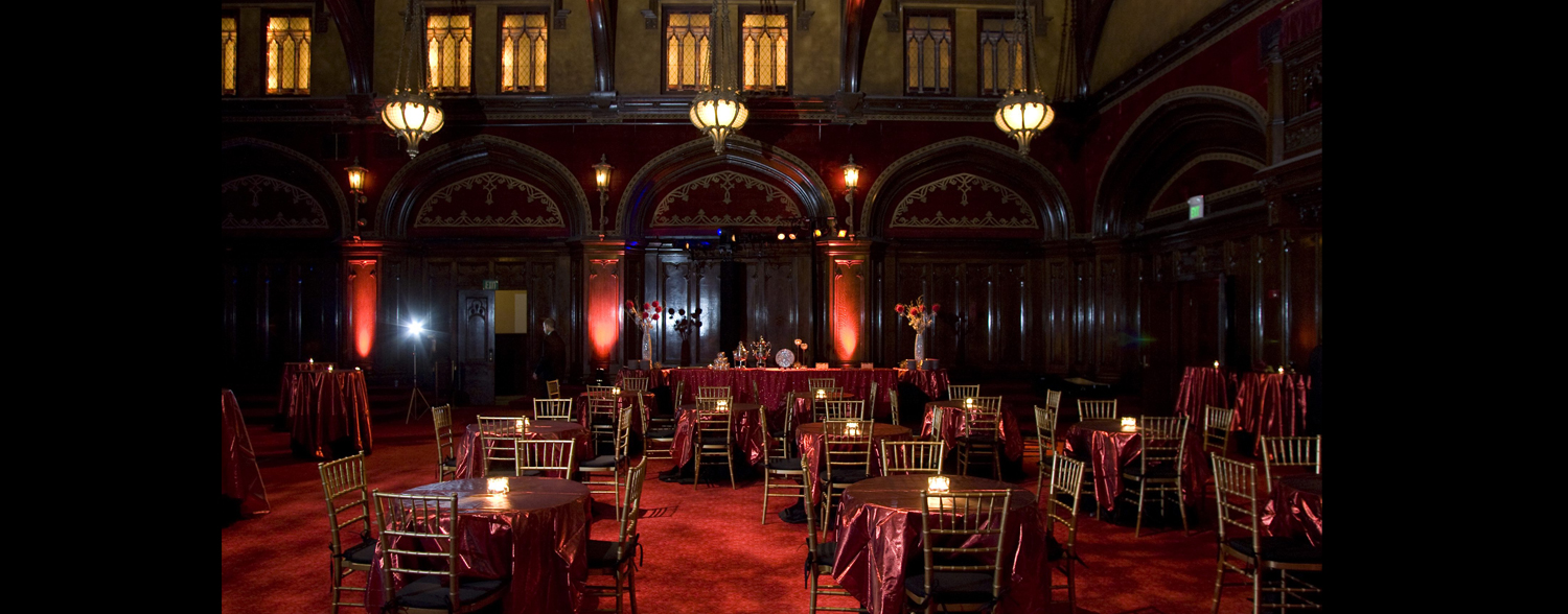 Masquerade Corporate Event, Young Presidents Organization Corporate event planner in San Francisco